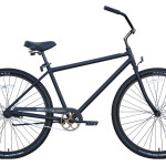 29in Beach Cruiser Black Stone