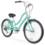 Firmstrong_CA-520_7sp_Women_s_26-Inch_Step-Thru_Forward_Pedaling_Bike_Mint_Green_1024x1024